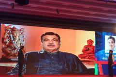 Shri Nitin Gadkari during iTV Budget Concalve